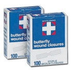 Butterfly Wound Closures, Medium .375