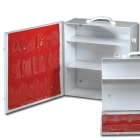 Industrial First Aid Cabinet, 4 Fixed Shelves, Side Door